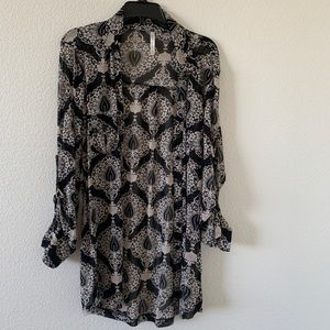 DNA Couture sheer button up